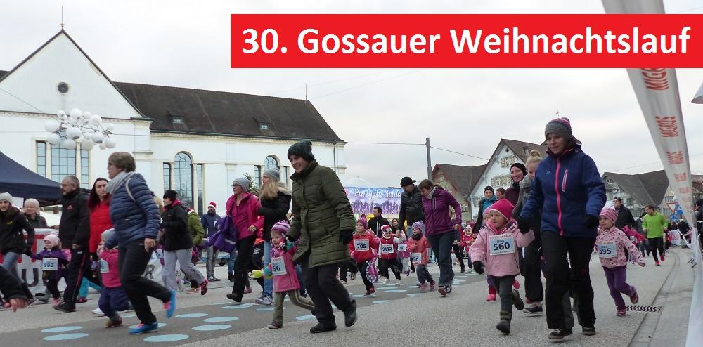 GOSSAUER WEIHNACHTSLAUF STEHT VOR DER TÜR – regioSPORT.ch